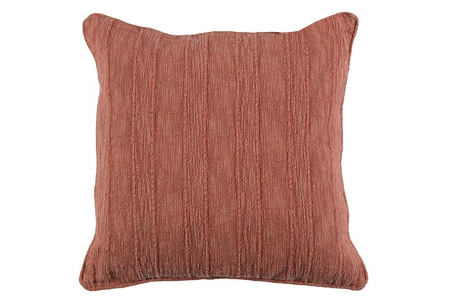 Accent Pillow-Heritage Linen Terracotta 22X22 - 360