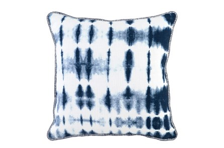 Accent Pillow-Indigo Batik 20X20