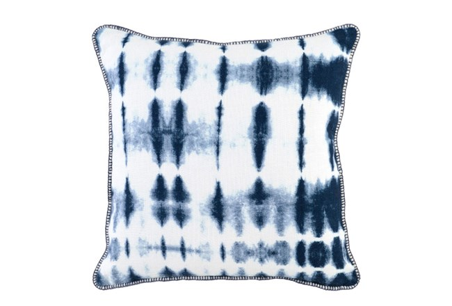 Accent Pillow-Indigo Batik 20X20 - 360