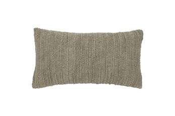 Accent Pillow-Natural Knit Linen  14X26