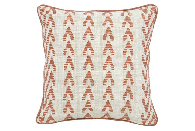Accent Pillow-Terracotta Arrows 22X22 - 360