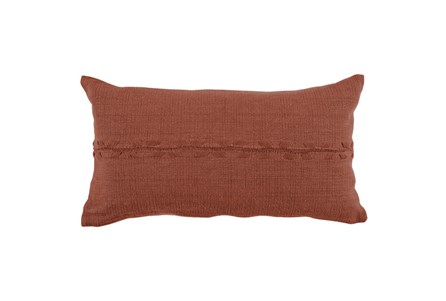 Accent Pillow-Terracotta Lumbar 14X26