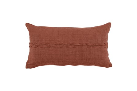 Accent Pillow-Terracotta Lumbar 14X26 - Main