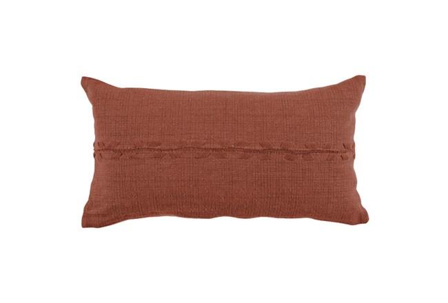 Accent Pillow-Terracotta Lumbar 14X26 - 360