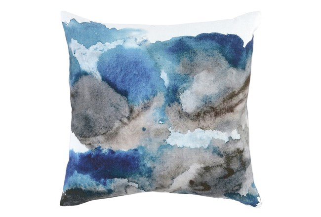 Accent Pillow-Watercolor Flowers Lake 20X20 - 360