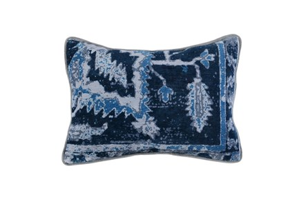 Accent Pillow-Indigo Blue Multi 14X26 - Main