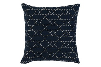 18X18 Opal Multi Layered Diamond Stitch Throw Pillow