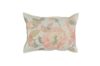 Accent Pillow-Blush Floral 14X26