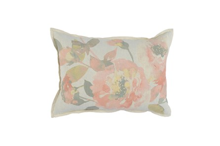 Accent Pillow-Blush Floral 14X26 - Main