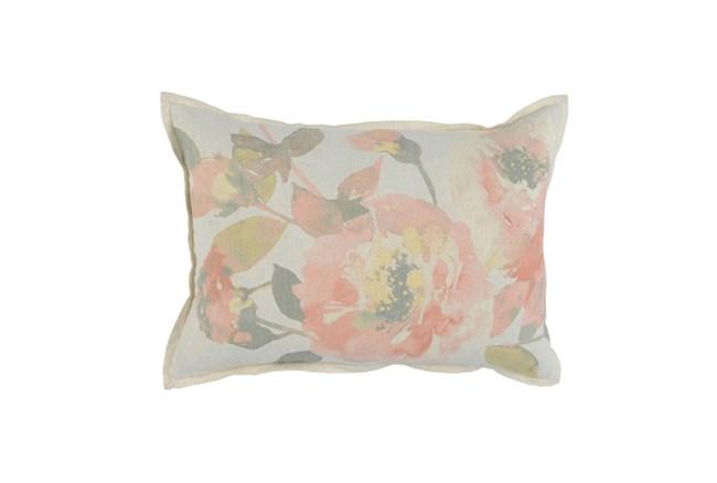 Accent Pillow-Blush Floral 14X26 - 360