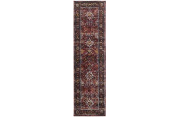 30X144 Rug-Mariam Moroccan Red