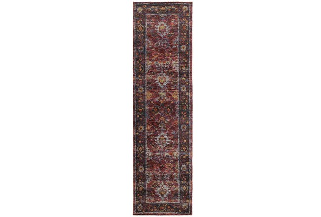 30X144 Rug-Mariam Moroccan Red - 360