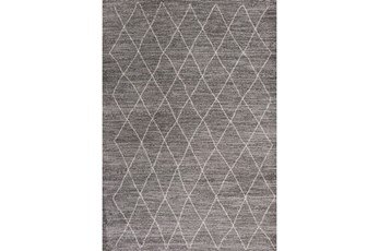 "5'3""x7'6"" Rug-Farmhouse Diamonds Charcoal"