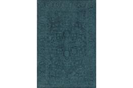 96X120 Rug-Caroline Tonal Pattern Navy