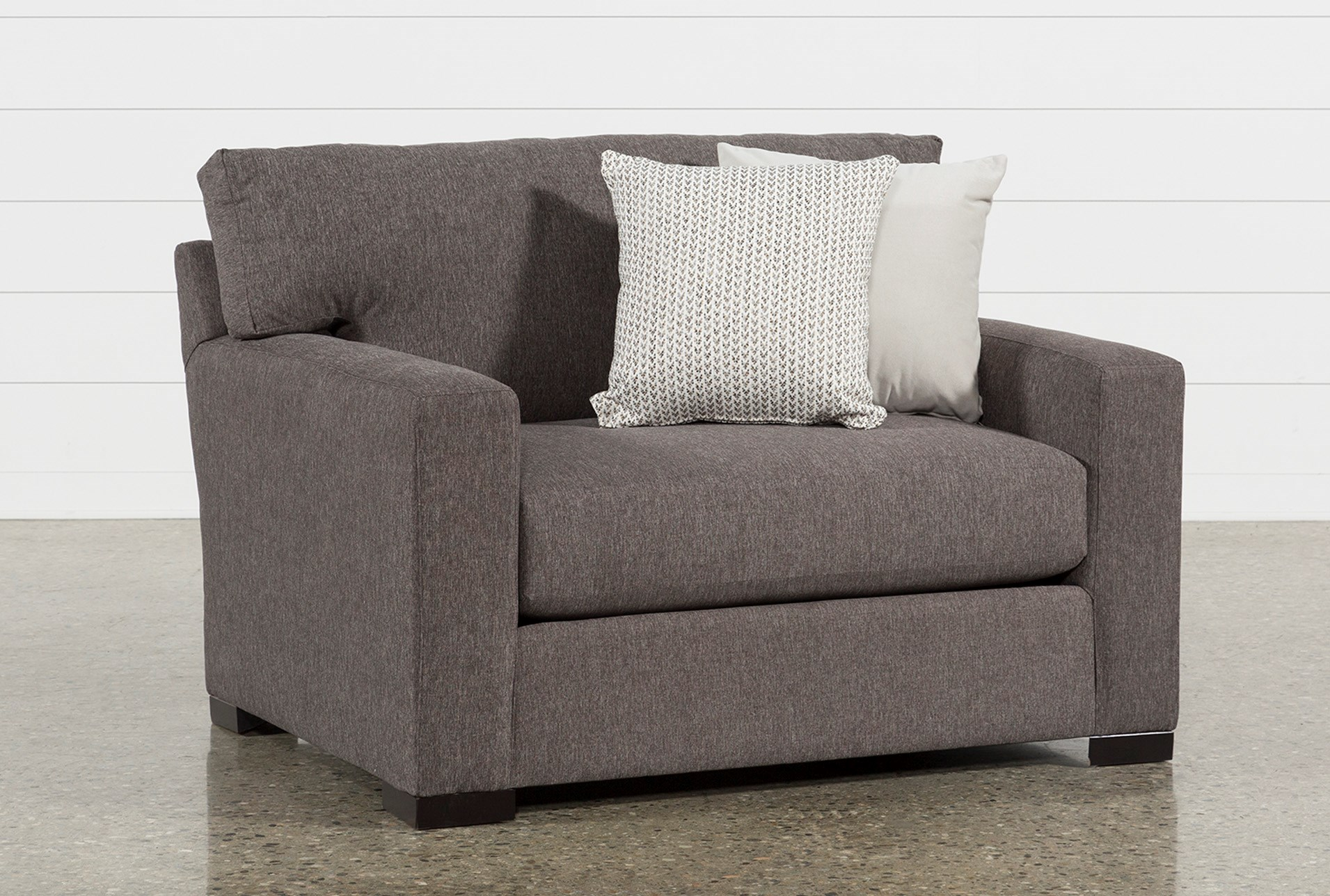 Mercer Foam Oversized Chair Living Spaces