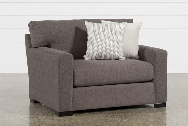 Mercer Foam Oversized Chair - 360