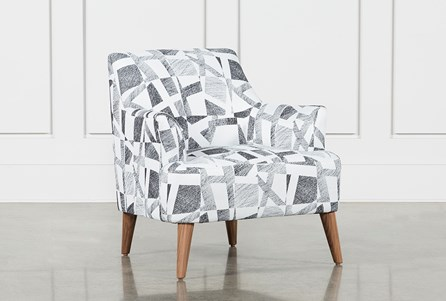 Anson Metal Accent Chair