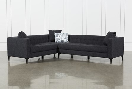 Anson Metal 2 Piece Sectional