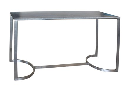 Grey Marble Console Table - Main
