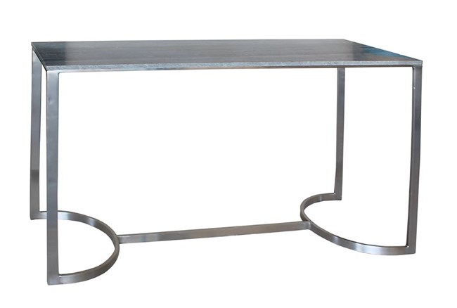 Grey Marble Console Table - 360