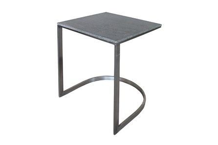 Grey Marble Side Table - Main