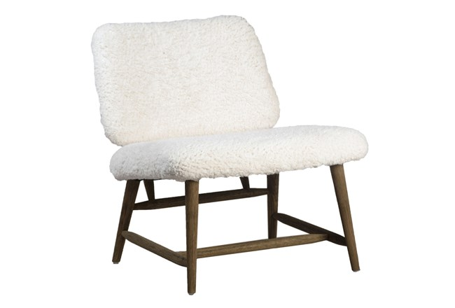 Sherpa Accent Chair - 360