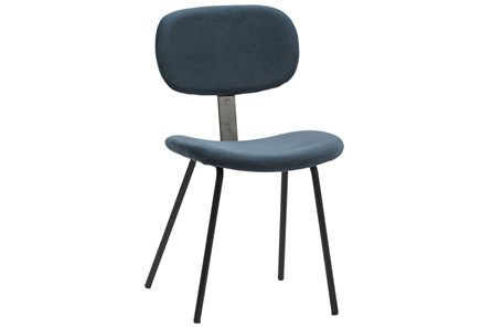 Blue Mavi Dining Chair