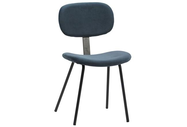 Blue Mavi Dining Chair  - 360