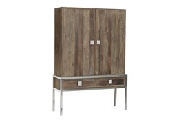 Ivo Cabinet On Metal Stand
