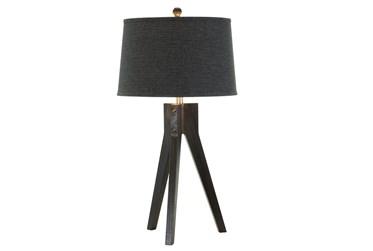 Table Lamp- Ebony Tripod