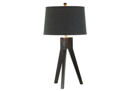 Table Lamp- Ebony Tripod