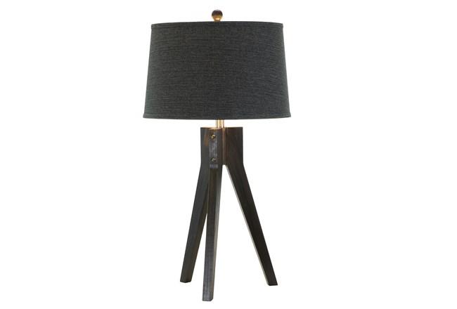 Table Lamp- Ebony Tripod - 360