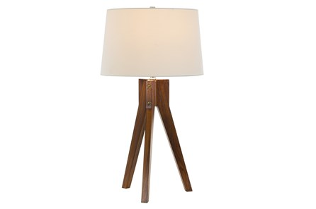 Table Lamp-Oak Tripod - Main