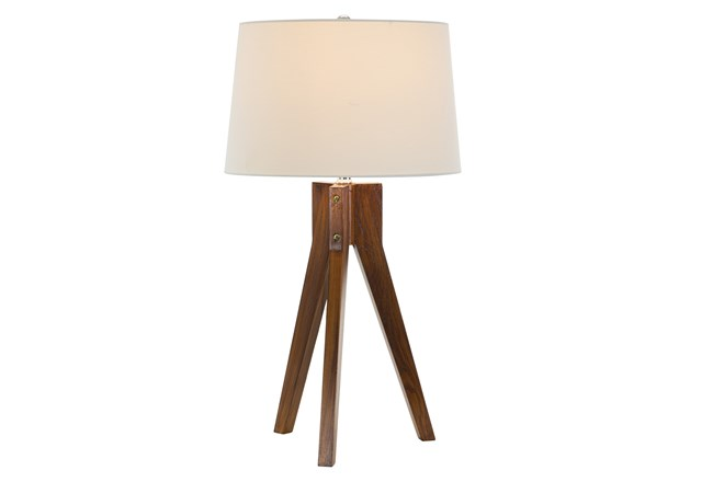 Table Lamp-Oak Tripod - 360