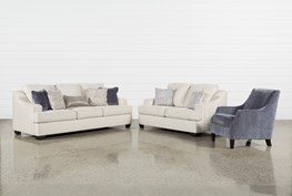 Brumbeck 3 Piece Living Room Set With Accent Chair