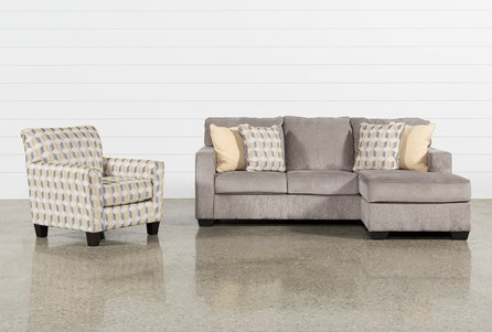 Mcculla 2 Piece Living Room Set With Accent Chair