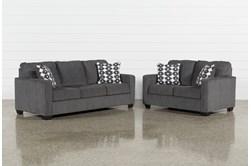 Turdur 2 Piece Living Room Set