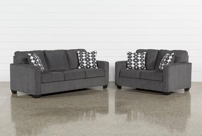Turdur 2 Piece Living Room Set - 360