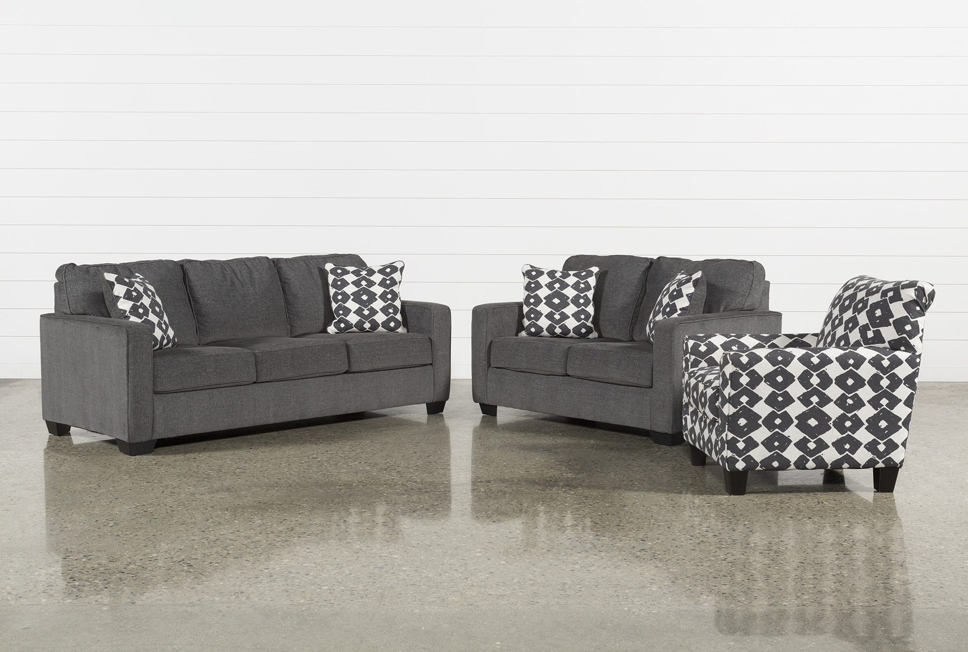 Turdur 3 Piece Living Room Set