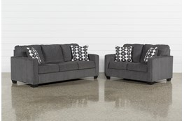 Turdur 2 Piece Living Room Set With Queen Sleeper