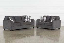 Turdur 2 Piece Living Room Set With Queen Sleeper