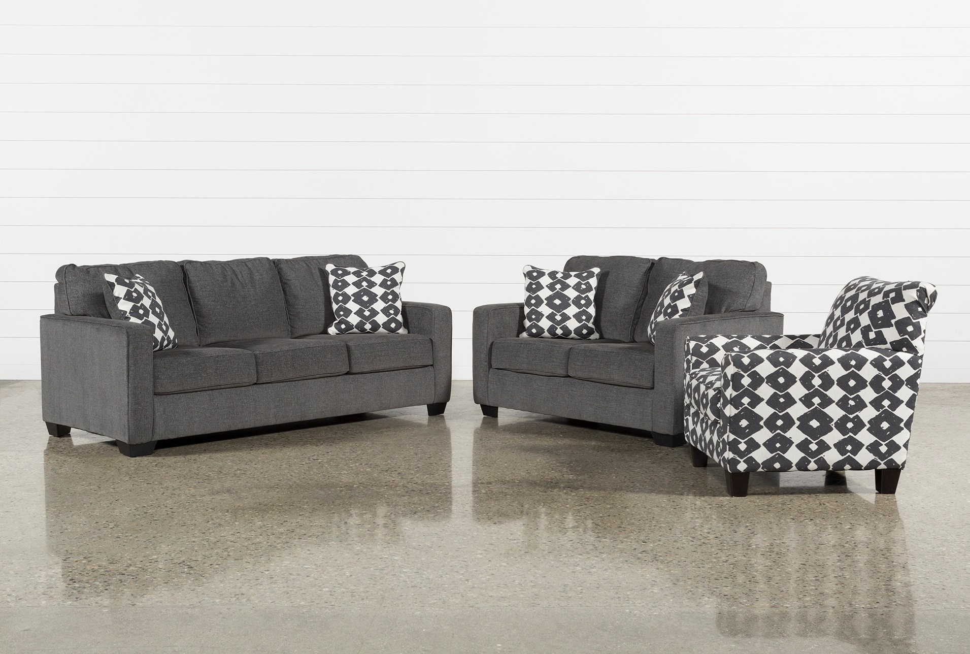 Turdur 3 piece living room set with queen sleeper qty 1 has been successfully added to your cart