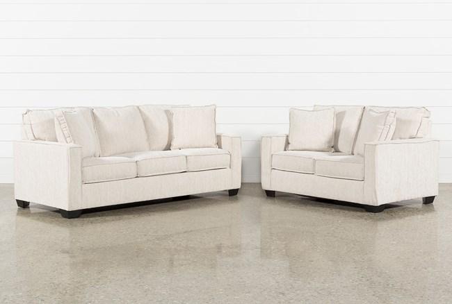 Escondido 2 Piece Living Room Set With Queen Sleeper - 360