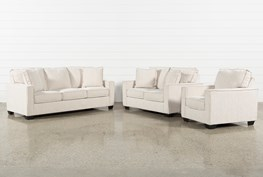 Escondido 3 Piece Living Room Set With Queen Sleeper