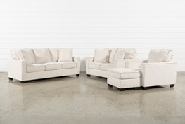 Escondido 4 Piece Living Room Set With Queen Sleeper