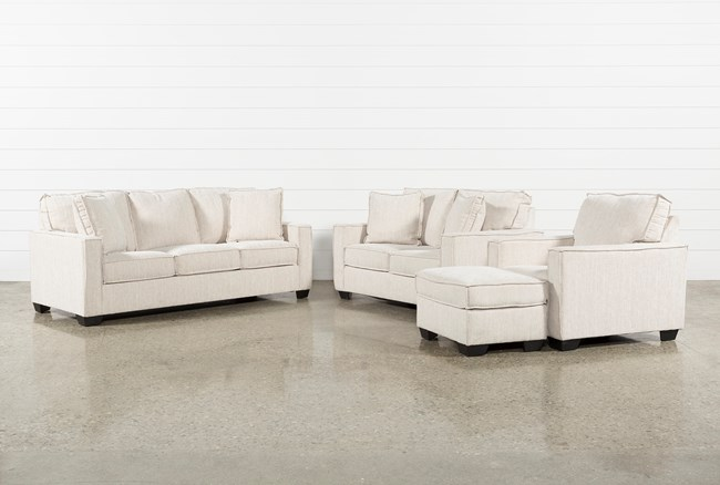 Escondido 4 Piece Living Room Set With Queen Sleeper - 360
