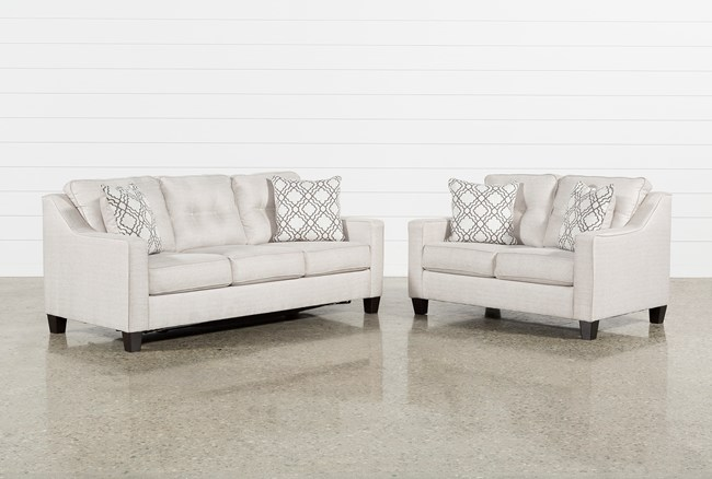 Linday Park 2 Piece Living Room Set With Queen Sleeper - 360