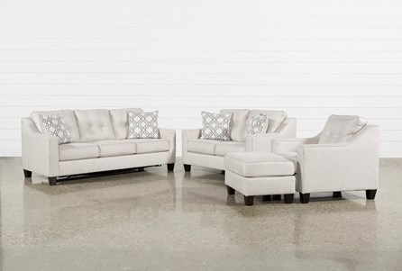 Linday Park 4 Piece Living Room Set With Queen Sleeper