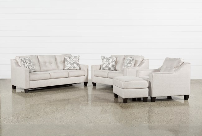 Linday Park 4 Piece Living Room Set With Queen Sleeper - 360