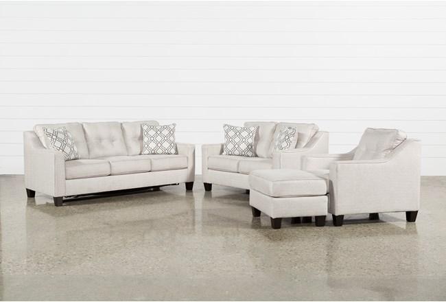 Linday Park 4 Piece Living Room Set With Queen Sleeper - 360